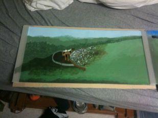 Woodstock pt.3; Acrylic, Polycarbonate