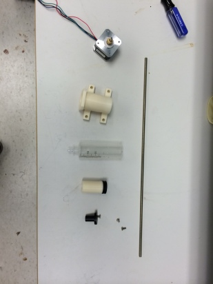 Syringe Head components