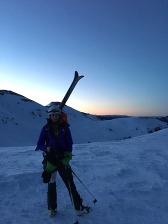 Star Pass at Sunrise.